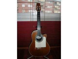 Características del anuncio guitarra ovation mod 1763 classic