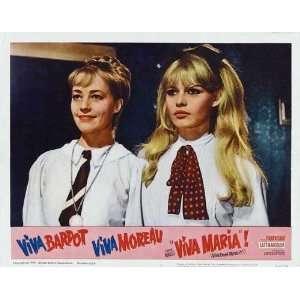 Viva Maria Poster Movie 11x14 Jeanne Moreau Brigitte