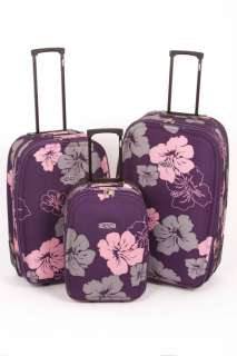 Designer Super Lightweight Luggage Trolley Suitcases