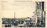 REYNIES INONDATIONS 1930 ROUTE DE MONTAUBAN
