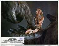 KING KONG (1976)   LOBBY CARD SET OF 8 / JESSICA LANGE