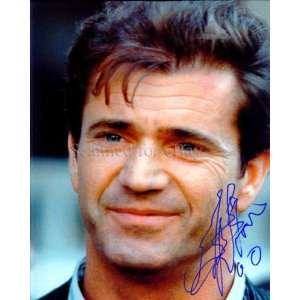 Mel Gibson Signed Lethal Weapon Photo c4