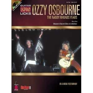 Ozzy Osbourne The Randy Rhoads Years (Guitar Legendary