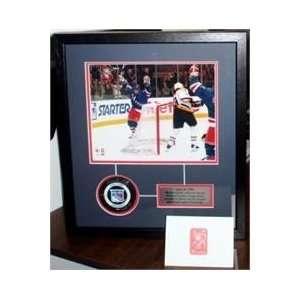 Wayne Gretzky Framed Autographed/Hand Signed New York Rangers Hockey