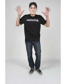 Charlie Sheen Winning Mens Tee Costume