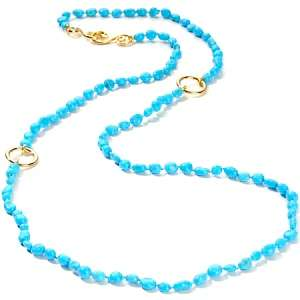 Heritage Gems Sleeping Beauty Turquoise Vermeil 36 Necklace