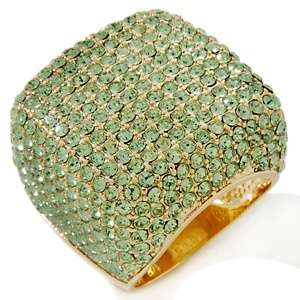 Justine Simmons Jewelry Bling Sugar Cube Ring