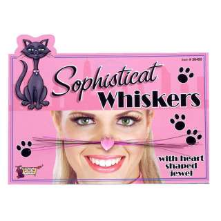 Sophisticats Cat Whiskers   Cat Costume Accessories