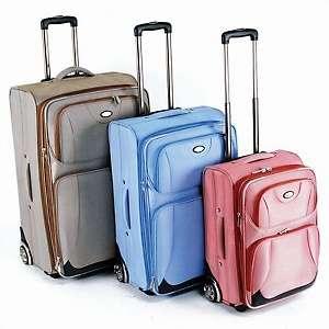 CalPak Havana Expandable 3 Piece Luggage Set