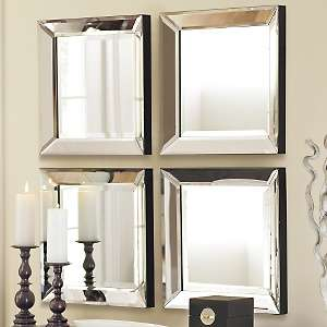 Grandin Road Beveled Glass Mirror