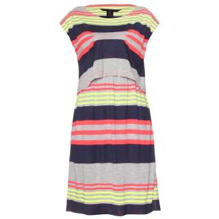 Marc by Marc Jacobs   FLASH STRIPED JERSEY DRESS