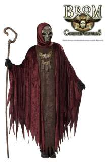 Adult Men Brom Scary Death Witch Lord Halloween Costume