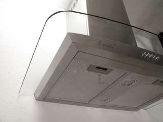 Stainless Steel Wall Mount Kitchen Range Hood Ventilation Fan KRW001
