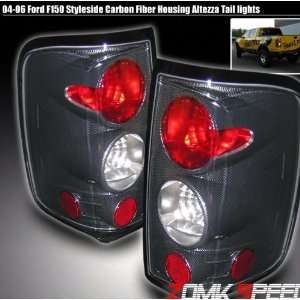 Ford F150 Tail Lights Carbon Altezza Taillights 2004 2005 2006 2007 04