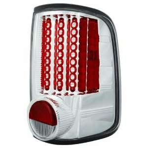 Ford 2004 2008 F150 / F250 LD Tail Lamps/ Lights, LED Crystal Clear