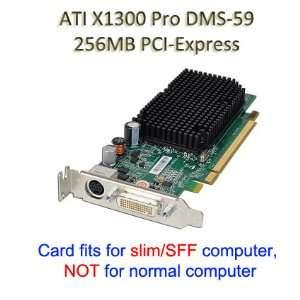 Dell ATI Radeon X1300 256MB Windows 7 Dual VGA Low Profile