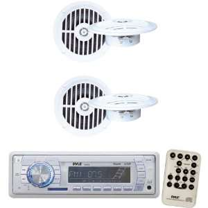 Radio Receiver and Speaker Package   PLMR18 AM/FM MPX PLL Tuning Radio