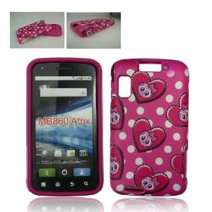 Cover and Silicone Skin Soft Gel Case Cell Phone + ellie e. Wristband