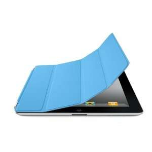 HOT For Apple Ipad 2 Blue slim magnetic smart cover/case