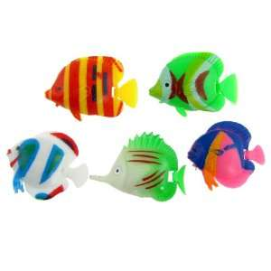 Tropical Fishes Decor Ornament for Fish Tank Aquarium: Pet Supplies