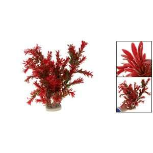 Como Plastic Aquarium Plant Fish Tank Underwater Ornament