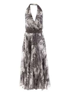 Silk feather dress  Haute Hippie