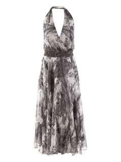 Silk feather dress  Haute Hippie