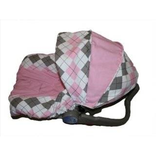 Argyle Infant Car Seat Cover, Fits Evenflo and Graco Brand Car Seats
