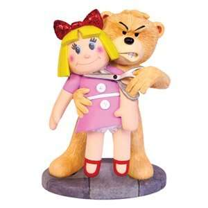 Weenicons   Bad Taste Bears statuette Barbie & Ken 11 cm: Toys & Games