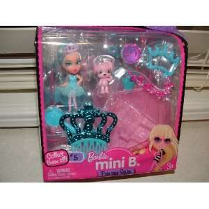 Barbie Mini B. Princess Series #5 Doll with Accessories: Toys & Games