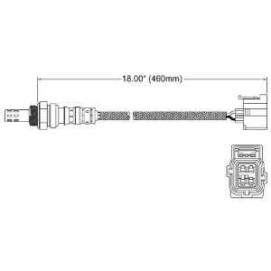 Walker 250 24317 Four Wire Oxygen Sensor Automotive
