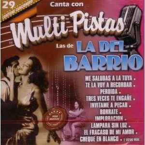 Canta con Multi Pistas: Las de La Del Barrio: Various Artists: Music