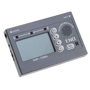 Large Display Auto Guitar and Bass Tuner Electronics