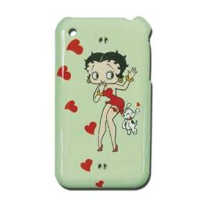 Betty Boop Snap On Case with Betty, Dog and Hearts for iPhone