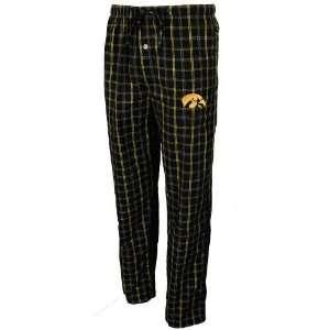 Iowa Hawkeyes Black Division Pajama Pants