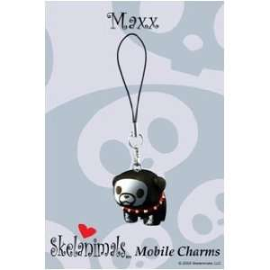 Maxx the Bulldog PVC Mobile (Cell Phone) Charm Toys & Games