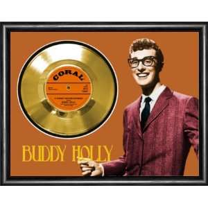 Buddy Holly It Doesn`t Matter Anymore Framed Gold Record A3