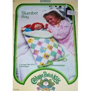 Vintage Cabbage Patch Kids Doll Slumber Bag: Toys & Games