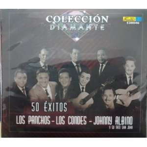 CD POPULAR COLECCION DIAMANTE 50 EXITOS LOS PANCHOS   LOS