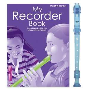 Yamaha Blue Recorder Pack with My Recorder Book/CD by