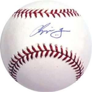 Chipper Jones Signed Official MLB Baseball