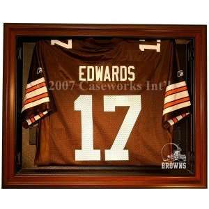 Cleveland Browns Removable Face Jersey Display Case