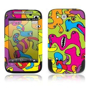Color Monsters Decorative Skin Cover Decal Sticker for HTC