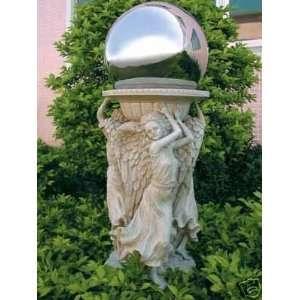 Glorious Angel Trio Gazing Ball Stand Patio, Lawn & Garden