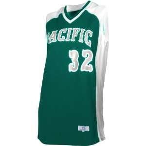 Cool Mock Sleeveless Jerseys DARK GREEN/WHITE (JERSEY ONLY) WM Sports