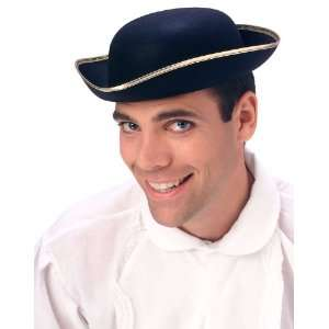 Lets Party By Rubies Costumes Tricorn Hat / Black   Size