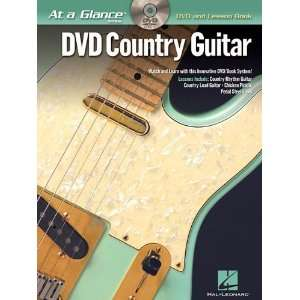 Country Guitar DVD/Book Pack (At a Glance (Hal Leonard