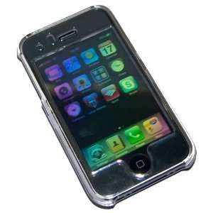 Transparent Crystal Clear Hard Plastic Snap on Case for