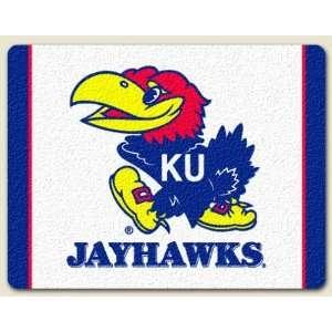 Large Cutting Board ~ University of Kansas Jayhawks ~ made of tempered