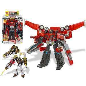 Transformers Cybertron Leader: Optimus Prime with Drill